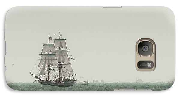 Boat Galaxy S7 Case - Sail Ship 1 by Lucid Mood
