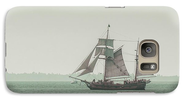 Boat Galaxy S7 Case - Sail Ship 2 by Lucid Mood