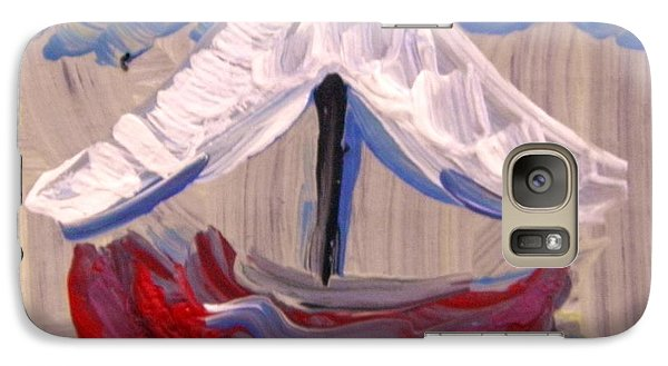 Galaxy Case featuring the painting Sail Travel by Mary Carol Williams