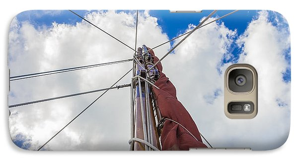 Galaxy Case featuring the photograph Sailboat Mast 1 by Leigh Anne Meeks