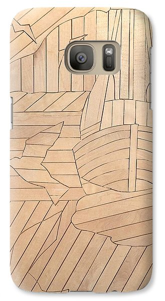 Galaxy Case featuring the painting Sailboat by Stan Tenney
