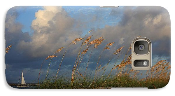 Galaxy Case featuring the photograph Sailboat Wrightsville Beach North Carolina  by Mountains to the Sea Photo