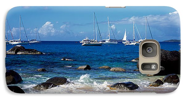 Sailboats In The Sea, The Baths, Virgin Galaxy Case by Panoramic Images
