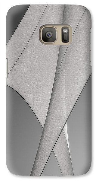 Sailcloth Abstract Number 3 Galaxy S7 Case by Bob Orsillo