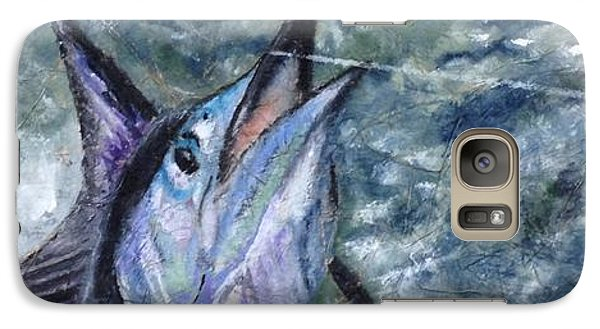 Galaxy Case featuring the painting Sailfish by Stan Tenney