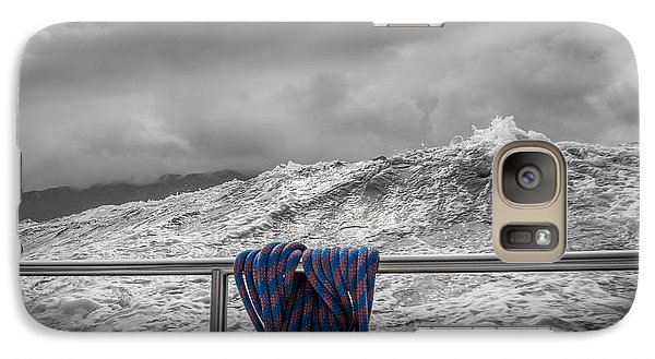 Galaxy Case featuring the photograph Sailing Around South West Cape Of Tasmania by Jola Martysz