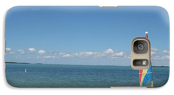 Galaxy Case featuring the photograph Sailing  At Key Largo by Christiane Schulze Art And Photography
