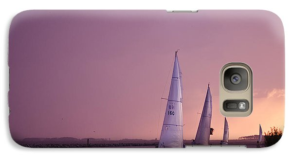 Galaxy Case featuring the photograph Sailing From The Sun by Kelly Reber