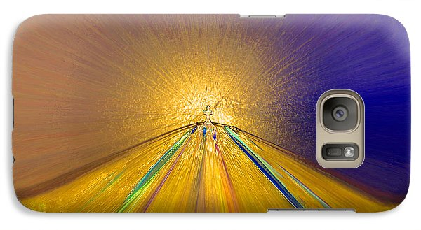 Galaxy Case featuring the photograph Sailing Into Paradise by Cindy Lee Longhini