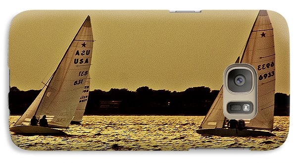 Galaxy Case featuring the photograph Sailing by Michael Nowotny