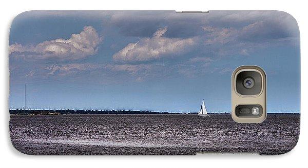 Galaxy Case featuring the photograph Sailing by Sennie Pierson
