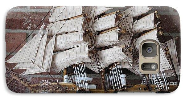 Galaxy Case featuring the photograph Sailing Ship by John Mathews