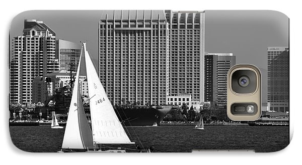 Galaxy Case featuring the digital art Sailing To Work by Kirt Tisdale