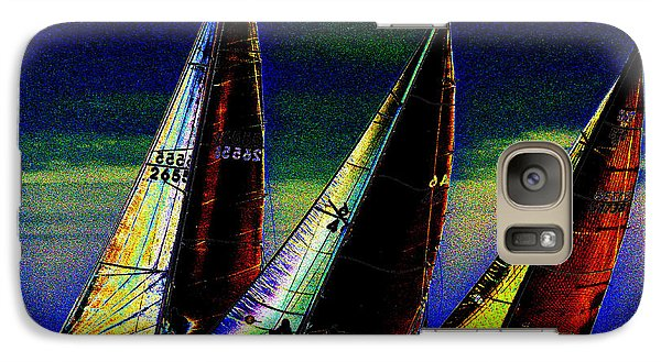 Galaxy Case featuring the photograph Sailors by Michael Nowotny