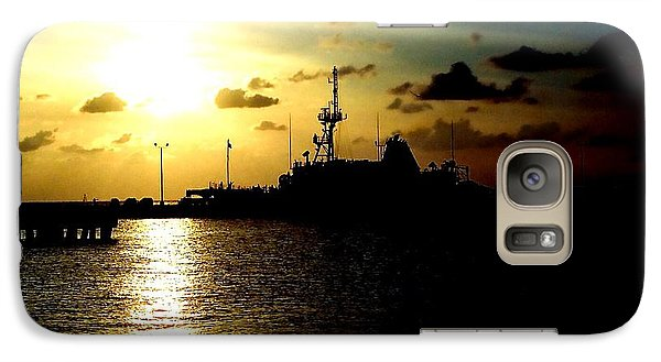 Galaxy Case featuring the photograph Sailors Morning by Amy Sorrell
