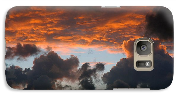 Galaxy Case featuring the photograph Sailors Take Warning by Allen Carroll