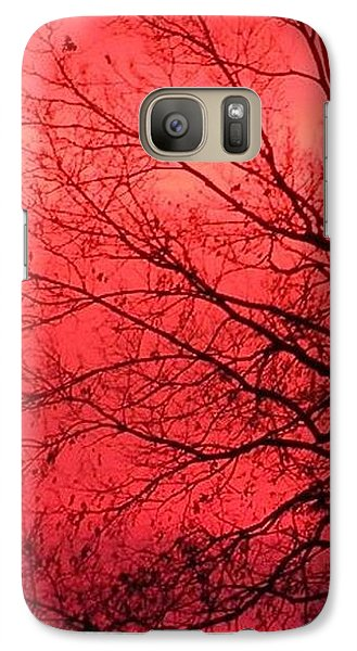 Galaxy Case featuring the photograph Sailor's Warning by Carlee Ojeda