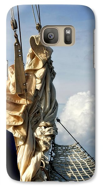 Galaxy Case featuring the photograph Sails by Joan Davis