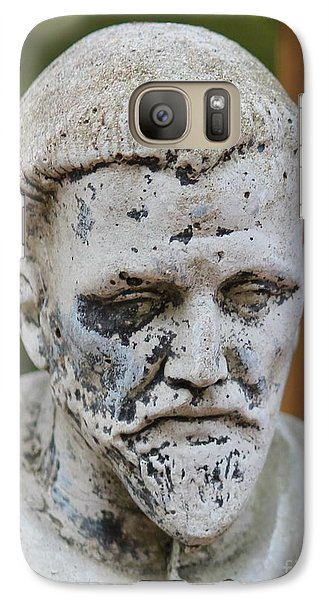 Galaxy Case featuring the photograph Saint Francis by Cynthia Snyder