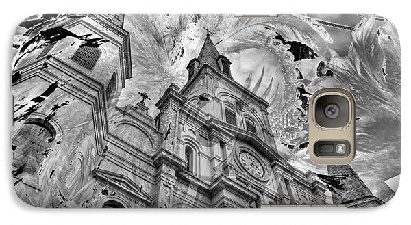 Galaxy Case featuring the photograph Saint Louis Cathedral And Spirits by Ron White