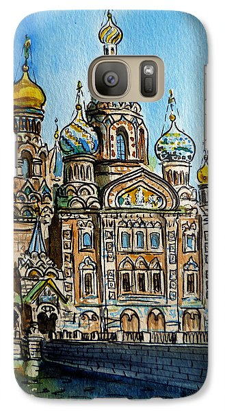 Saint Petersburg Russia The Church Of Our Savior On The Spilled Blood Galaxy S7 Case