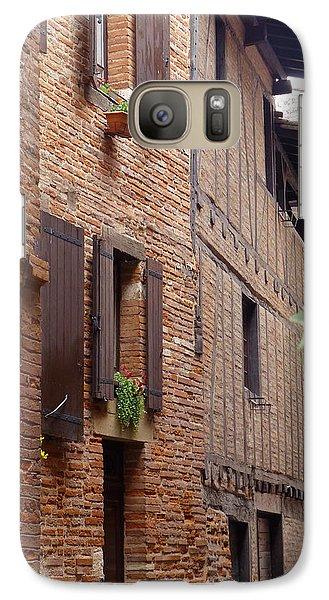 Galaxy Case featuring the photograph Saint-salvi Backstreet In Albi France by Susan Alvaro
