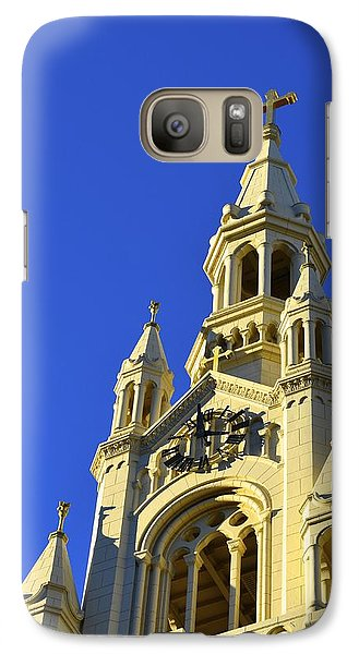 Galaxy Case featuring the photograph Saints Peter And Paul Church San Francisco by Alex King
