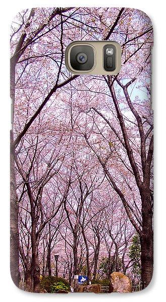 Galaxy Case featuring the photograph Sakura Tree by Andrea Anderegg