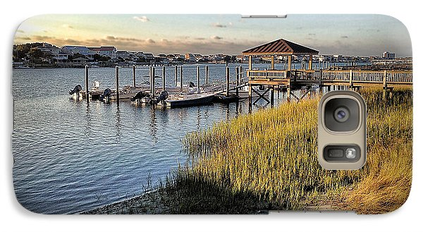 Galaxy Case featuring the photograph Salisbury Street Low Tide by Phil Mancuso