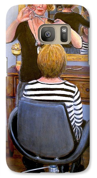 Galaxy Case featuring the painting Salon #1 by Donelli  DiMaria