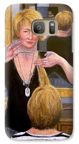 Galaxy Case featuring the painting Salon #2 by Donelli  DiMaria