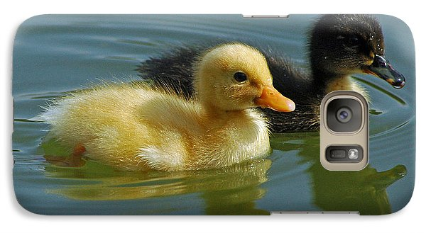 Galaxy Case featuring the photograph Salt And Pepper by Olivia Hardwicke