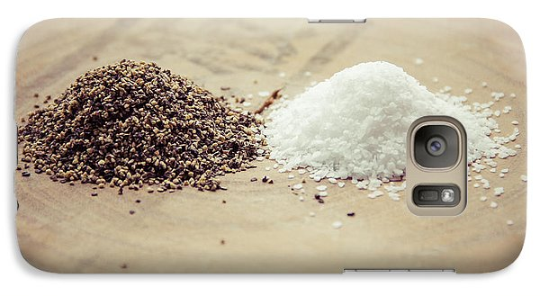 Galaxy Case featuring the photograph Salt And Pepper by Takeshi Okada