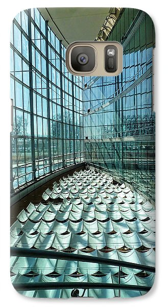 Galaxy Case featuring the photograph Salt Lake City Library by Ely Arsha
