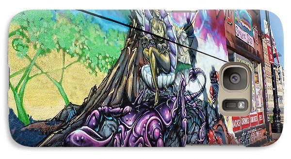 Galaxy Case featuring the photograph Salt Lake City - Mural 3 by Ely Arsha