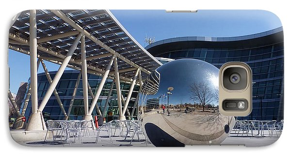 Galaxy Case featuring the photograph Salt Lake City Police Station - 1 by Ely Arsha