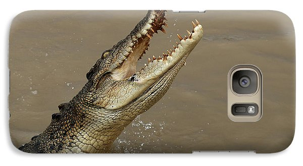 Salt Water Crocodile Australia Galaxy S7 Case by Bob Christopher