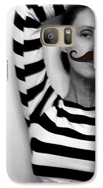 Galaxy Case featuring the photograph Salvador Dali And Me by Lisa Piper