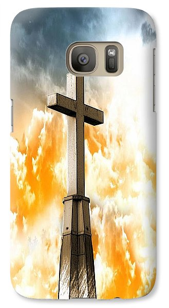 Galaxy Case featuring the photograph Salvation From Heaven by Aaron Berg