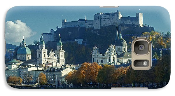 Galaxy Case featuring the photograph Salzburg Austria In Fall by Rudi Prott
