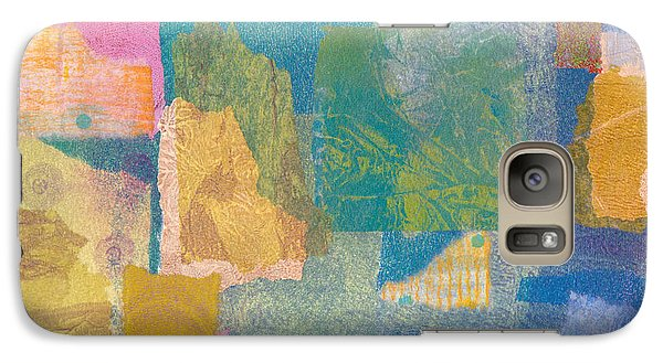 Galaxy Case featuring the mixed media Samarkand by Catherine Redmayne