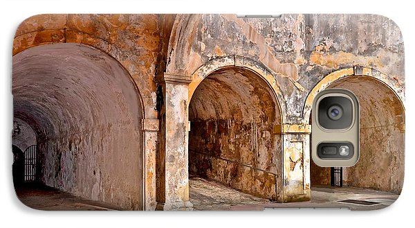 Galaxy Case featuring the photograph San Cristobal Fort Tunnels by Ricardo J Ruiz de Porras