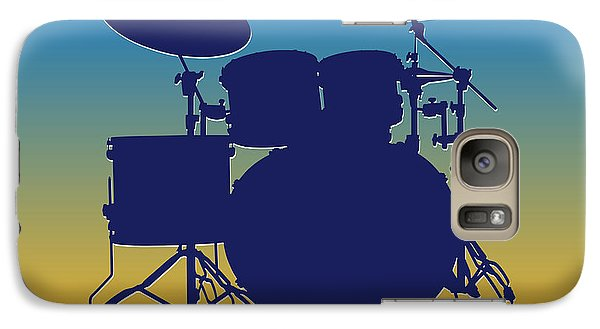 San Diego Chargers Drum Set Galaxy S7 Case by Joe Hamilton