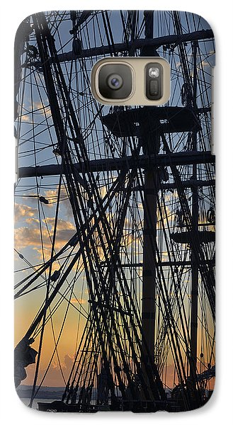 Galaxy Case featuring the photograph San Diego Sunset by Marianne Campolongo