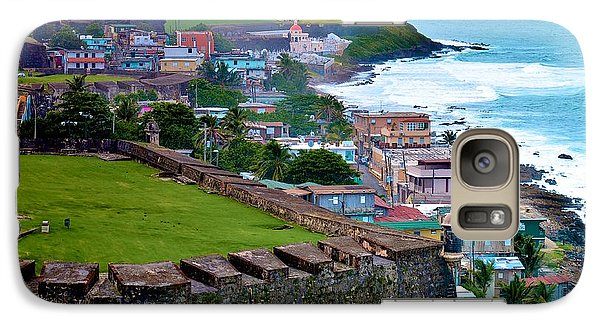 Galaxy Case featuring the photograph San Felipe Del Morro Fortress From San Cristobal by Ricardo J Ruiz de Porras