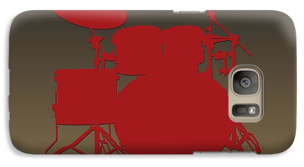San Francisco 49ers Drum Set Galaxy S7 Case by Joe Hamilton