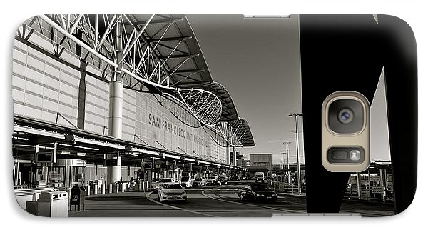 Galaxy Case featuring the photograph San Francisco Airport by Alex King