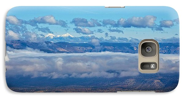 Galaxy Case featuring the photograph San Francisco Peaks by Ron Chilston