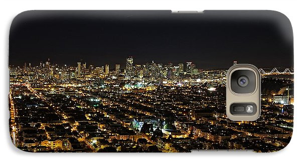 Galaxy Case featuring the photograph San Francisco Skyline by Dave Files
