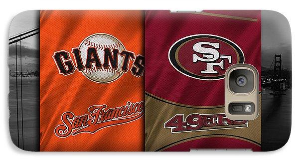 San Francisco Sports Teams Galaxy S7 Case by Joe Hamilton